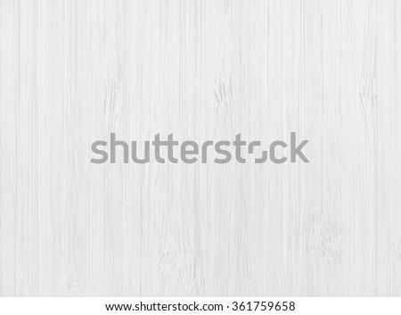 White Wood Background, Top View