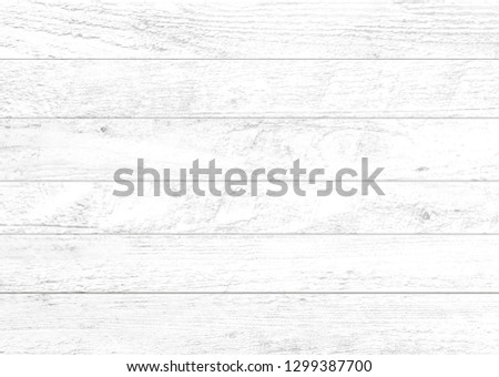 White wood pattern and texture for background. Close-up. #1299387700
