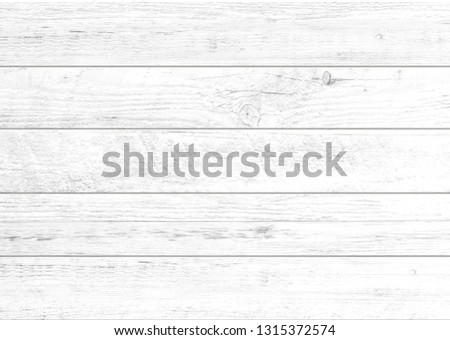 White wood pattern and texture for background. Close-up image. #1315372574