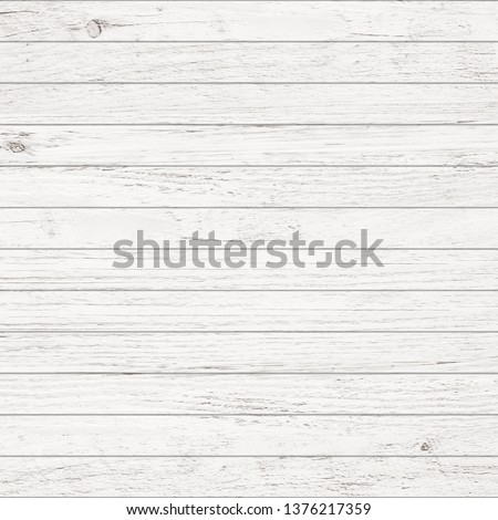 White wood pattern and texture for background. Close-up image. #1376217359