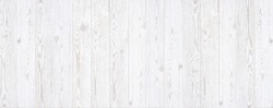 White wood seamless background. Rustic wooden wall texture background.