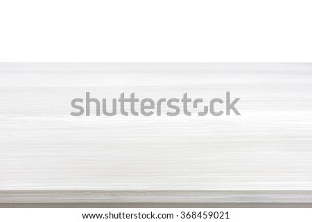 White wood table top for  background - can be used for display or montage your products