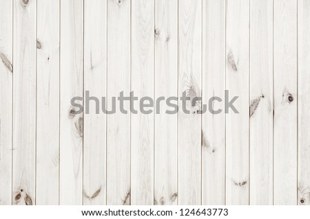 white wood texture background - Shutterstock ID 124643773