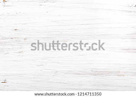 White wooden background, wood texture