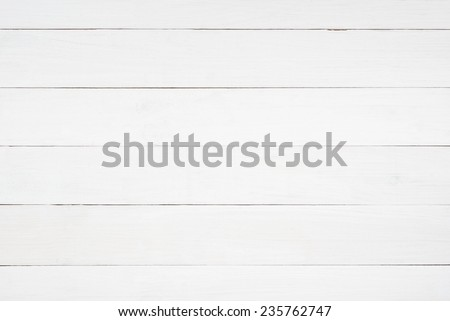 White wooden planks table - background or texture #235762747