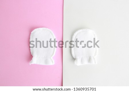 white wool mittens for baby #1360935701
