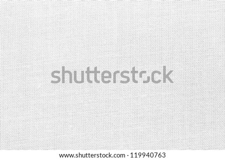 White Woven Fabric Texture