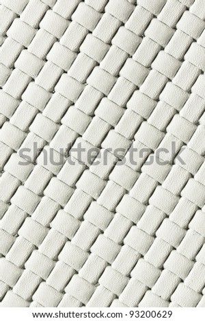 white woven leather See my portfolio for more