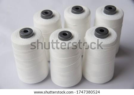 White yarn spool,Raw White Polyester FDY Yarn spool