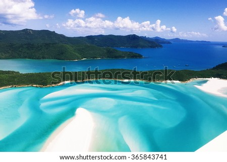 Whitehaven Beach, Queensland #365843741