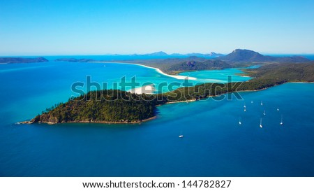 Whitehaven Beach Whitsunday Islands