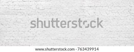 whitewashed brick wall, light brickwork background for design. White masonry