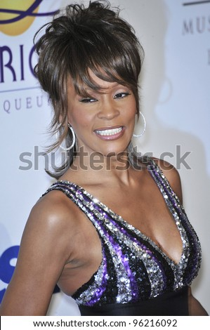 Whitney Houston at music mogul Clive Davis' annual pre-Grammy party at the Beverly Hilton Hotel. February 9, 2008 Los Angeles, CA Picture: Paul Smith / Featureflash