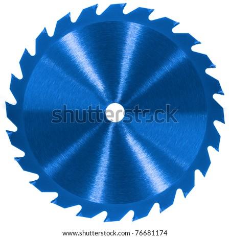 Whole saw blade - Blue