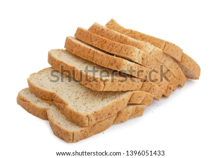 Whole wheat bread is a kind of bread made from flour that is partially or completely crushed from whole or almost whole grains, whole wheat flour and cereal. Is a kind of brown bread #1396051433