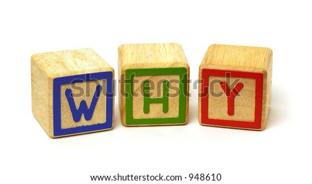 Why made of wooden blocks