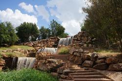 Wichita Falls Texas waterfall system