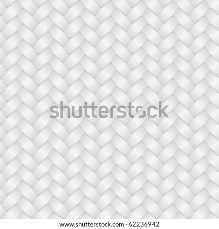 Wicker white background (seamless pattern)