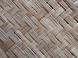 Wickerwork patterns with soft focus