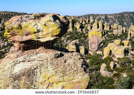 Wide Balanced Rock at Chiricahua National Monument #293666837