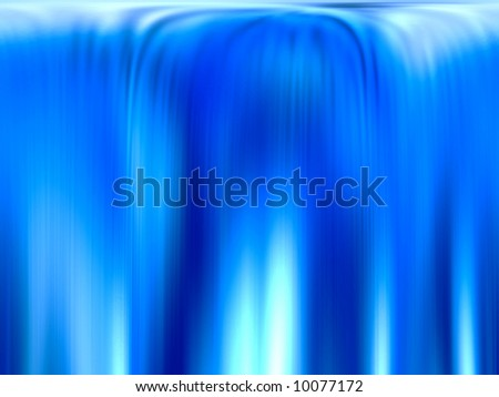 wide clear waterfall background