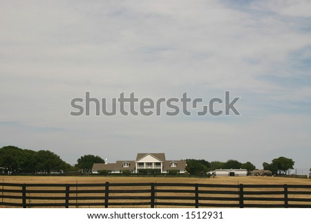 Wide of Southfork Ranch