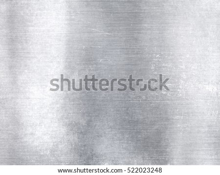 Widescreen silver metallic aluminum industrial textured background