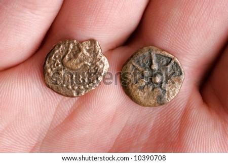 Widow's Mite - Ancient Roman Bronze Coins