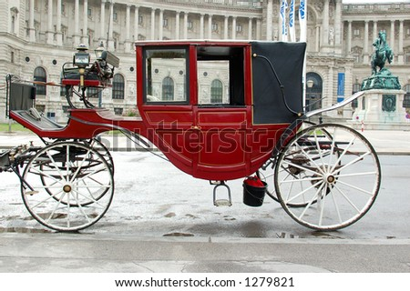 Wiener Carriage - stock photo