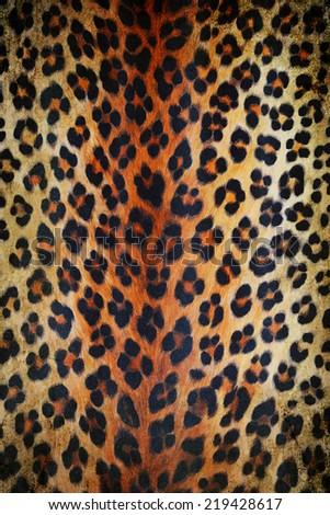 Wild animal skin pattern #219428617
