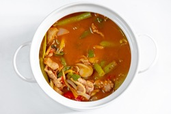Wild curry, Red Curry with Pork