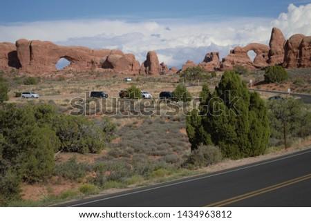 Wild West canyons of Utah