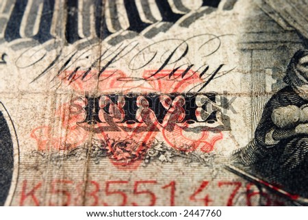 Will pay five antique note