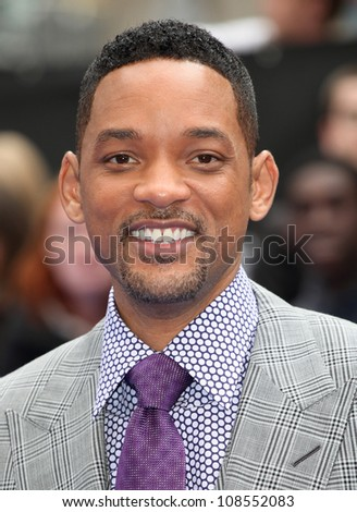 Will Smith arriving at the Men In Black 3 Premiere, at Odeon Leicester Square, London. 16/05/2012 Picture by: Alexandra Glen / Featureflash - stock photo