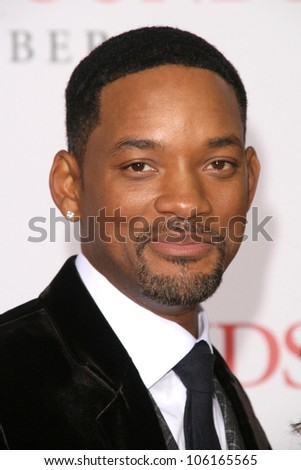 Will Smith at the Los Angeles Premiere of 'Seven Pounds'. Mann Village Theatre, Westwood, CA. 12-16-08 - stock photo