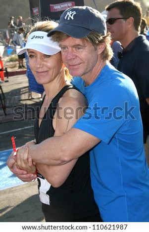 William H. Macy and Felicity Huffman at The 21st Nautica Malibu Triathlon Presented By Toyota. Zuma Beach, Malibu, CA. 09-16-07