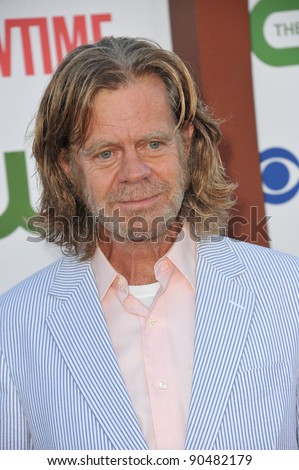 William H. Macy, star of Shameless, at the CBS Summer 2011 TCA Party at The Pagoda, Beverly Hills. August 3, 2011  Los Angeles, CA Picture: Paul Smith / Featureflash