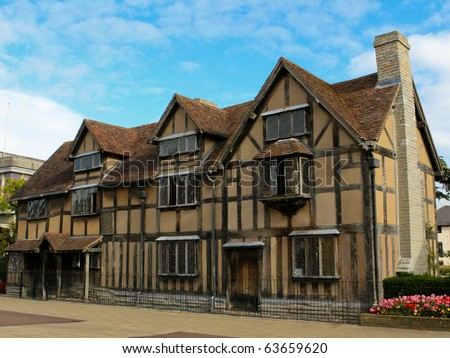William Shakespeare's Birthplace, Stratford upon Avon.