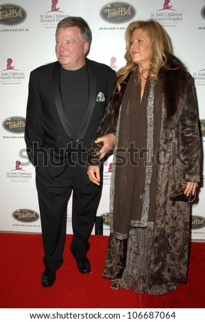 William Shatner and wife Elizabeth  at the 5th Annual Runway For Life Gala Benefitting St. Jude Childrens Hostpital. Beverly Hilton Hotel, Beverly Hills, CA. 10-11-08