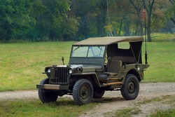 Willys - old fighting jeep