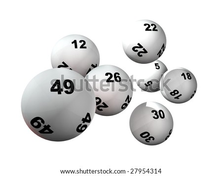 Win Numbers And Lottery Balls Stock Photo 27954314 : Shutterstock