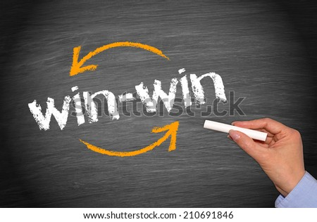 win-win Situation - Business Concept #210691846