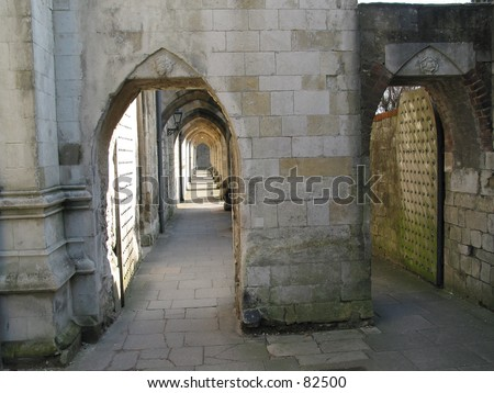 Winchester Passage - stock photo