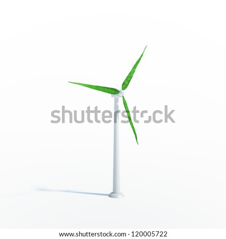 Wind and renewable energy concept