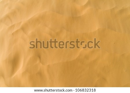 Wind-blown sand