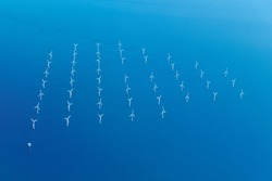 wind farm is a group of wind turbines