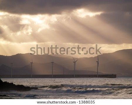 Wind Farms at Azkorri
