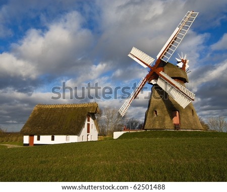 Wind mill in Denmark