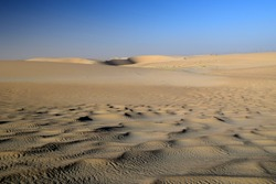 Wind-Sculpted Ripples in the Arabian Desert, Eastern Province, Dammam, Eastern Province, Saudi Arabia