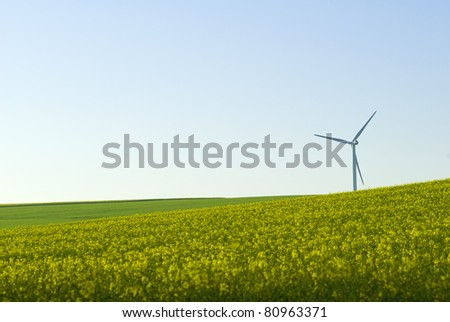 wind turbine and agriculture